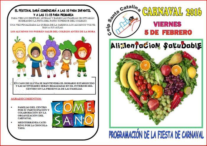 Folleto Carnaval