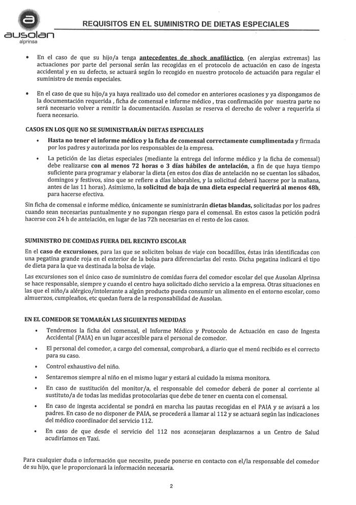 Ausolan_Requisitos en el suministro de dietas especiales 2