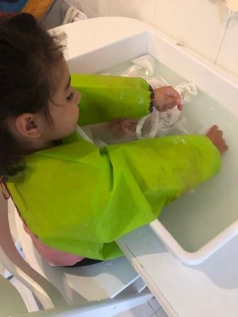 Goya limpiando disfraces